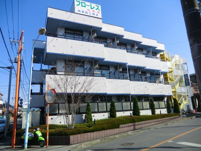 埼玉県川口市、鳩ヶ谷駅徒歩12分の築14年 3階建の賃貸マンション