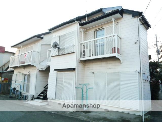 埼玉県川口市、鳩ヶ谷駅徒歩15分の築26年 2階建の賃貸アパート