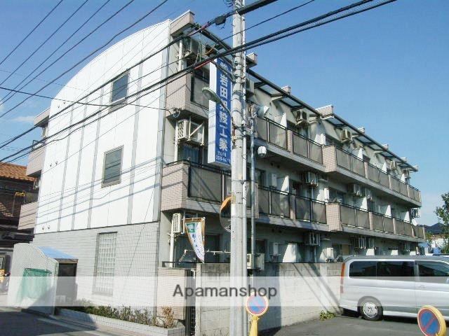 埼玉県川口市、蕨駅徒歩28分の築27年 3階建の賃貸マンション