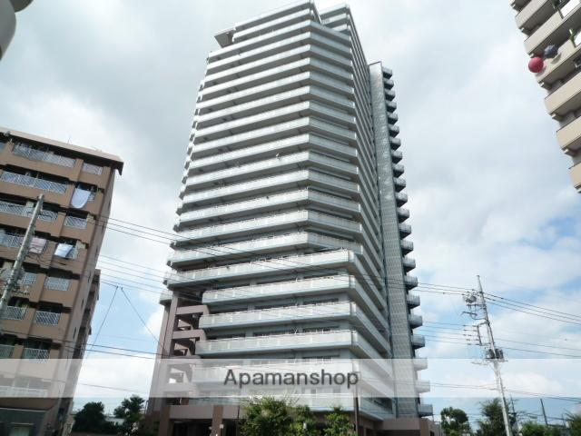 埼玉県川口市、北赤羽駅徒歩18分の築22年 23階建の賃貸マンション