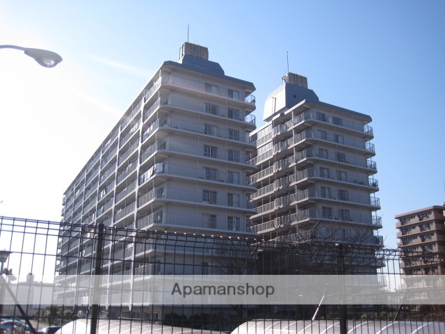 埼玉県川口市、川口駅徒歩23分の築37年 11階建の賃貸マンション