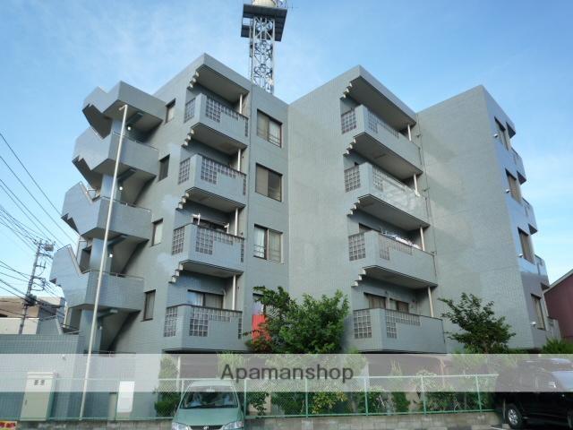 埼玉県川口市、川口駅徒歩13分の築25年 5階建の賃貸マンション