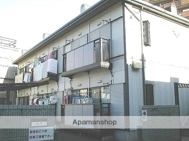 埼玉県川口市、西川口駅徒歩14分の築24年 2階建の賃貸アパート