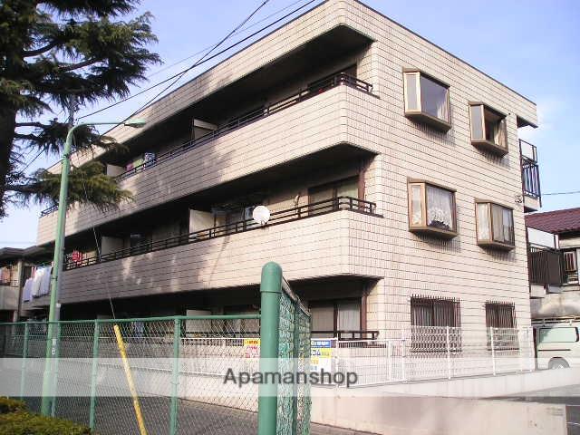 埼玉県川口市、西川口駅徒歩18分の築25年 3階建の賃貸マンション
