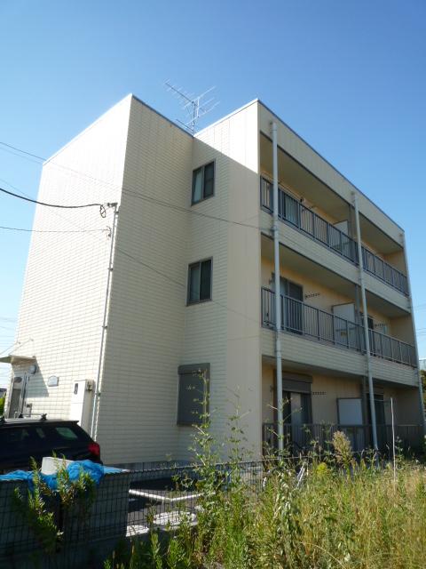 埼玉県川口市、鳩ヶ谷駅徒歩8分の築10年 3階建の賃貸マンション