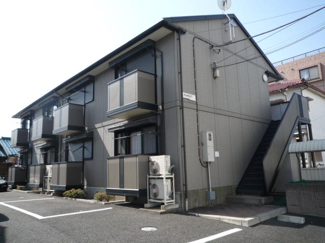 埼玉県川口市、南鳩ヶ谷駅徒歩14分の築16年 2階建の賃貸アパート