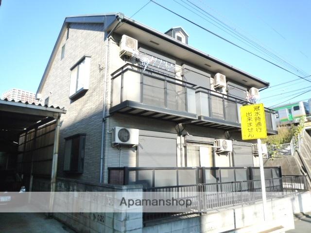 埼玉県川口市、川口駅徒歩10分の築18年 2階建の賃貸アパート