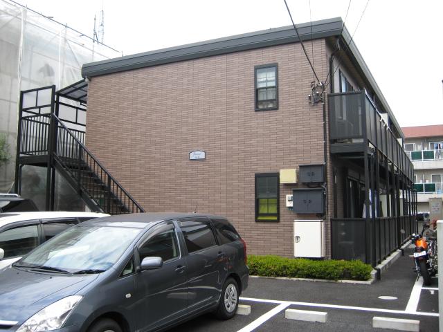 埼玉県川口市、川口元郷駅徒歩24分の築11年 2階建の賃貸アパート