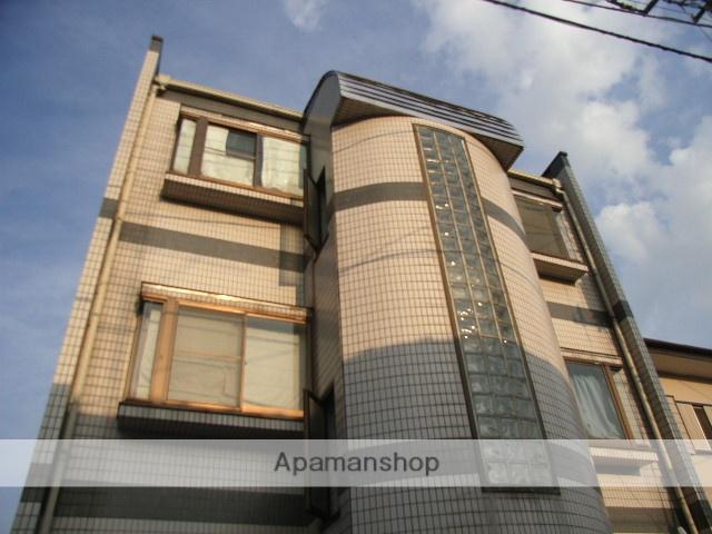 埼玉県川口市、蕨駅徒歩27分の築25年 3階建の賃貸マンション