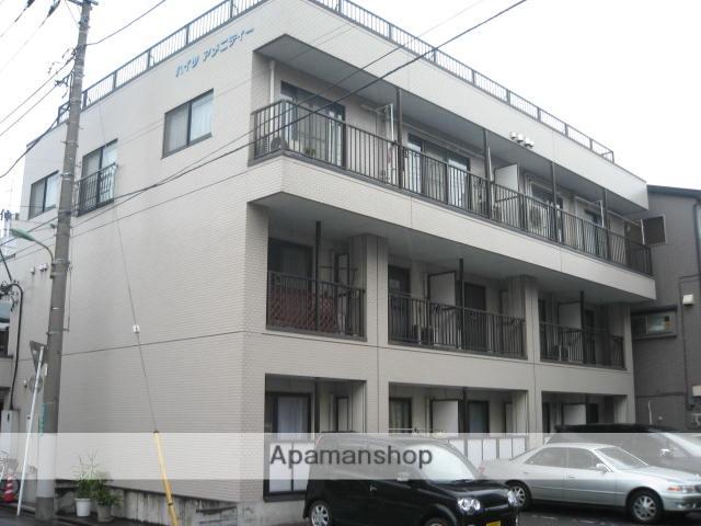 埼玉県川口市、蕨駅徒歩25分の築22年 3階建の賃貸アパート