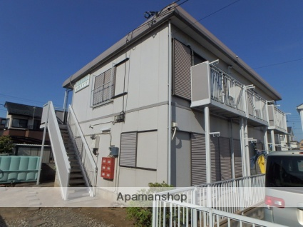 埼玉県さいたま市見沼区、土呂駅徒歩16分の築33年 2階建の賃貸アパート