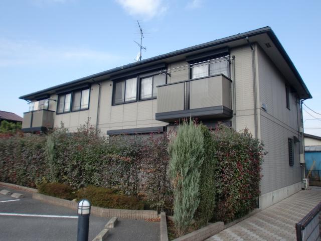 埼玉県上尾市、東大宮駅徒歩13分の築17年 2階建の賃貸アパート