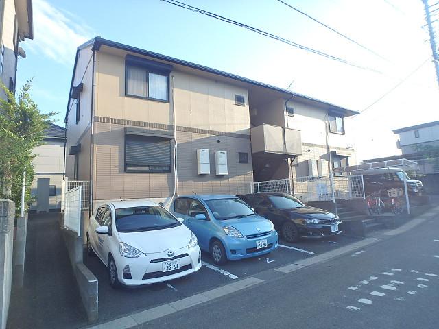 埼玉県さいたま市見沼区、七里駅徒歩22分の築22年 2階建の賃貸アパート