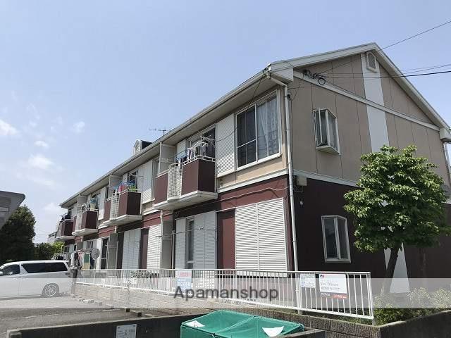 埼玉県さいたま市見沼区、東大宮駅バス15分深作中下車後徒歩8分の築25年 2階建の賃貸アパート