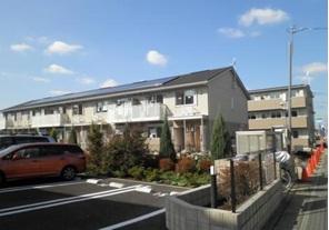 埼玉県さいたま市見沼区、大宮駅バス9分蓮沼下車後徒歩4分の築2年 2階建の賃貸アパート