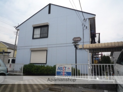 埼玉県さいたま市見沼区、東大宮駅徒歩23分の築25年 2階建の賃貸アパート
