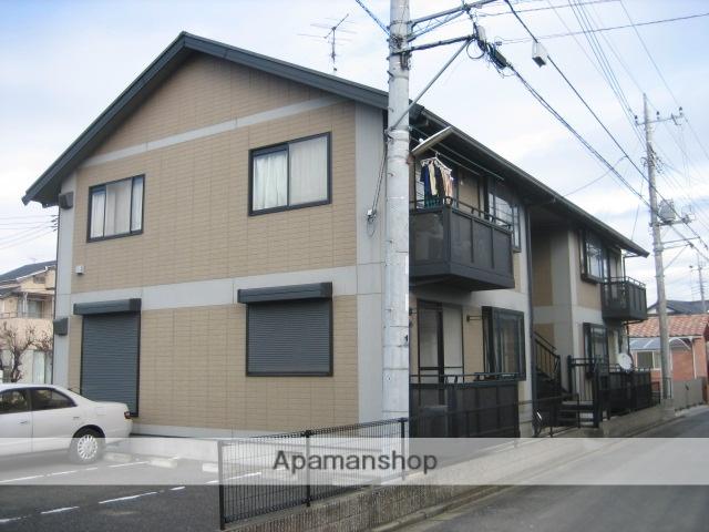 埼玉県上尾市、東大宮駅徒歩13分の築20年 2階建の賃貸アパート