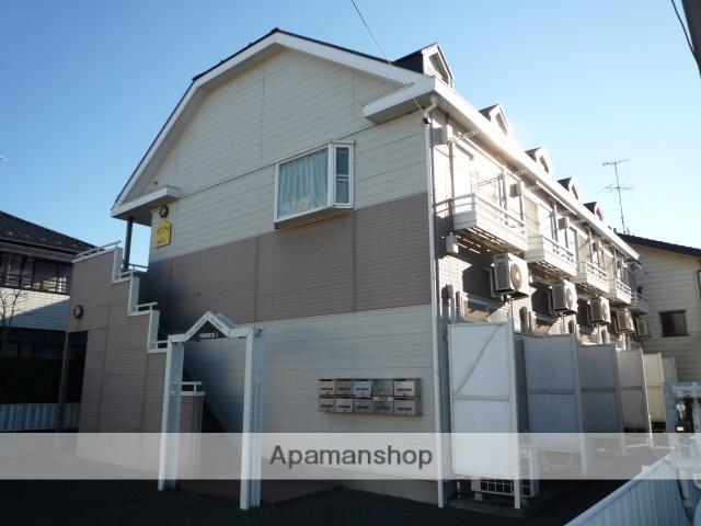 埼玉県さいたま市見沼区、東大宮駅徒歩16分の築23年 2階建の賃貸アパート