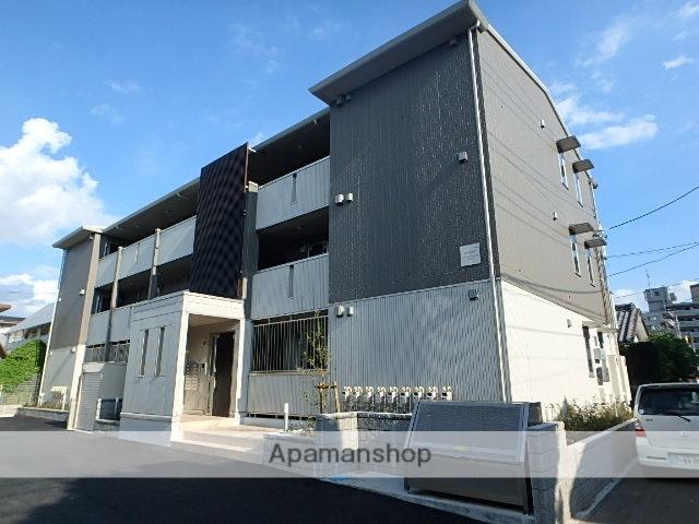埼玉県さいたま市北区、土呂駅徒歩4分の築1年 3階建の賃貸アパート