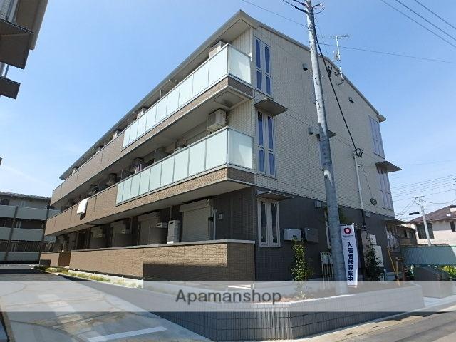 埼玉県さいたま市北区、東大宮駅徒歩22分の築2年 3階建の賃貸アパート