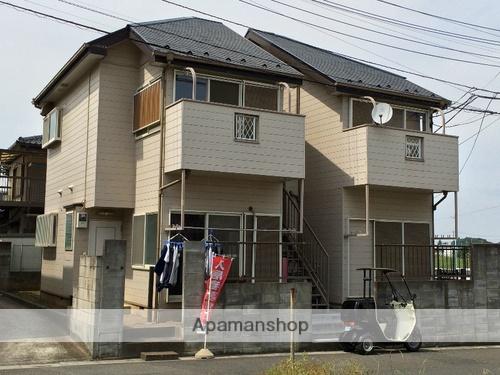 埼玉県さいたま市見沼区、東大宮駅バス15分深作中下車後徒歩8分の築20年 2階建の賃貸アパート
