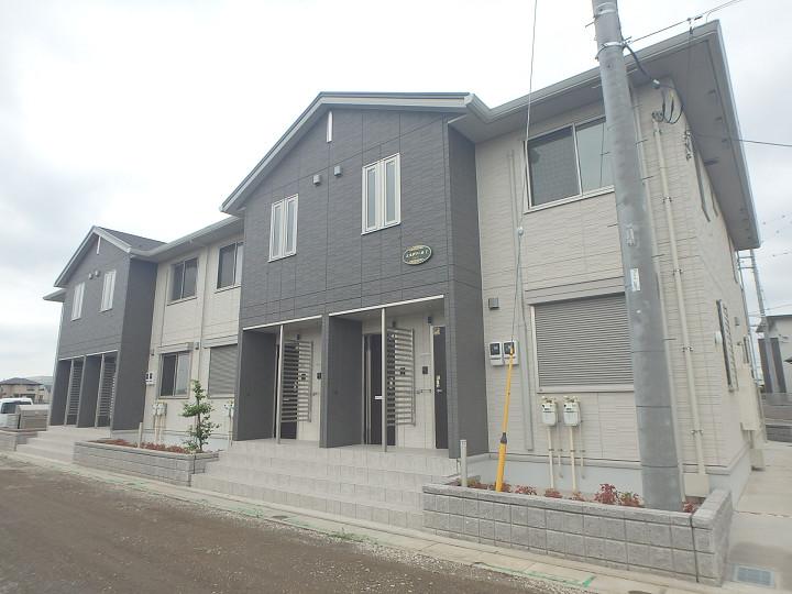 埼玉県さいたま市見沼区、東大宮駅徒歩30分の新築 2階建の賃貸アパート