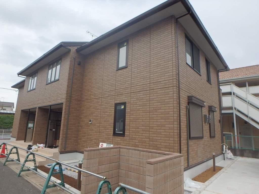埼玉県上尾市、東大宮駅徒歩14分の新築 2階建の賃貸アパート