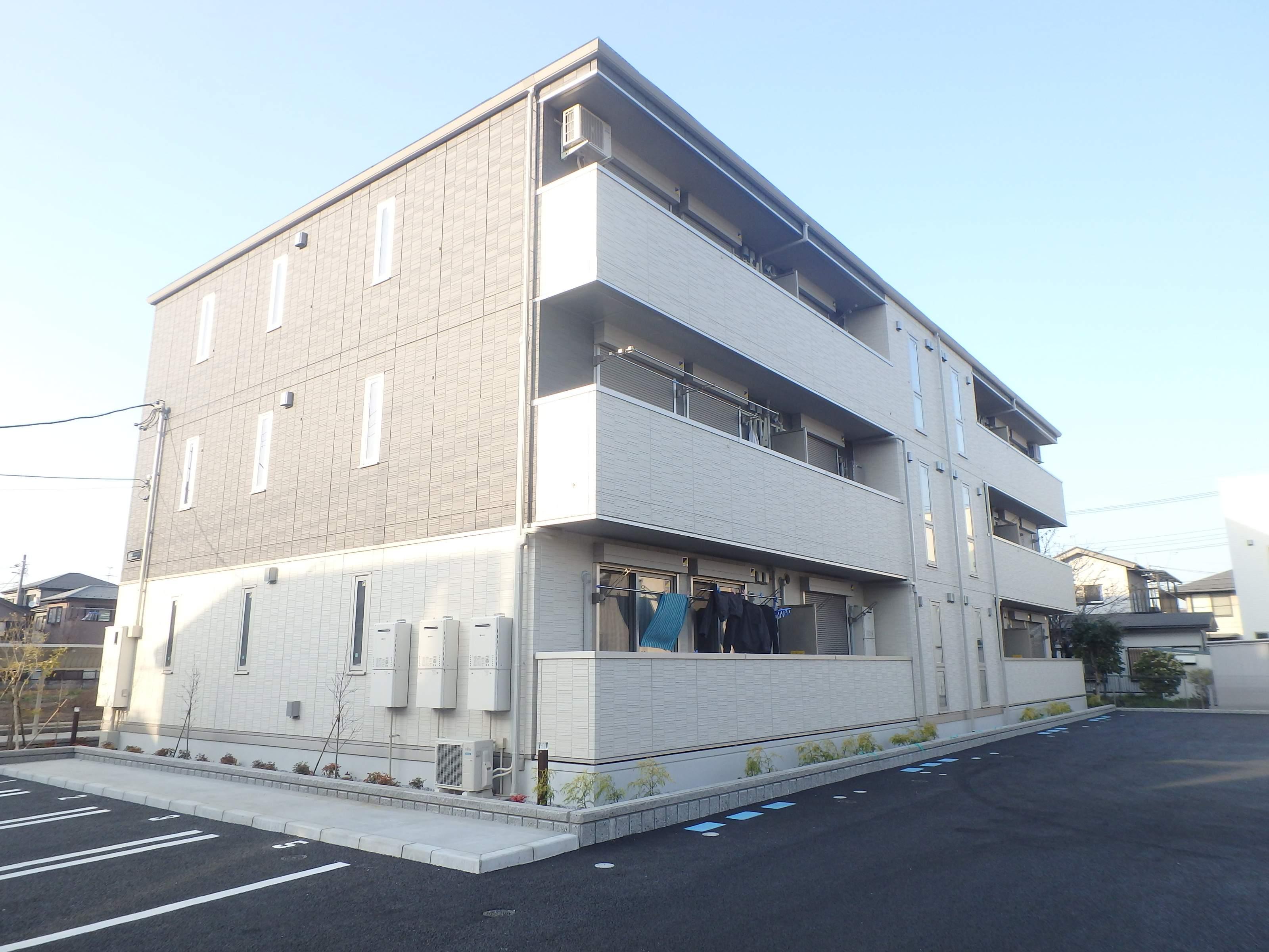 埼玉県さいたま市見沼区、東大宮駅徒歩28分の新築 3階建の賃貸アパート