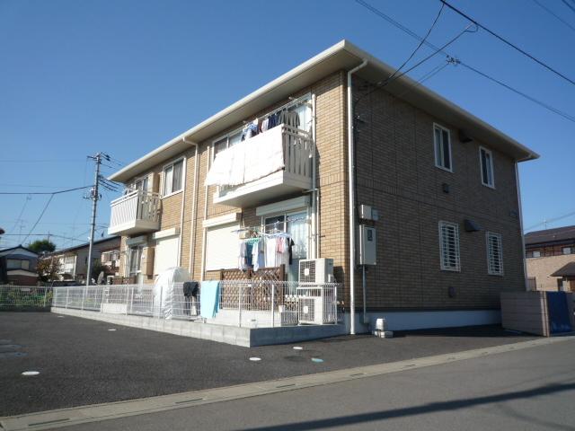 埼玉県上尾市、東大宮駅徒歩11分の築11年 2階建の賃貸アパート