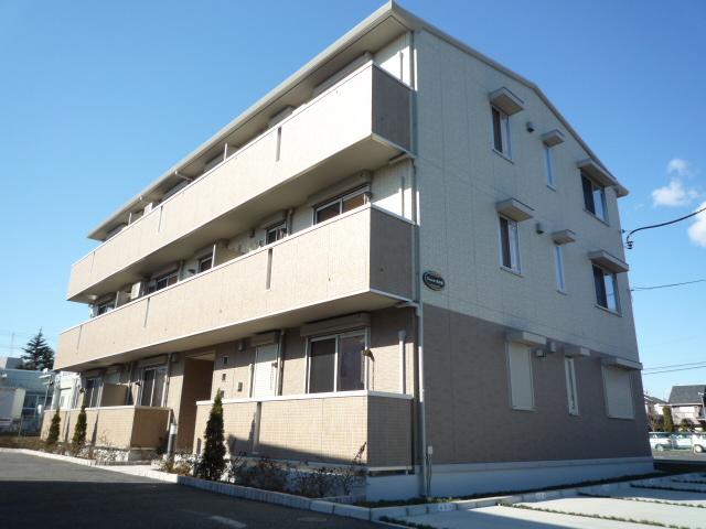 埼玉県さいたま市北区、土呂駅徒歩12分の築5年 3階建の賃貸アパート