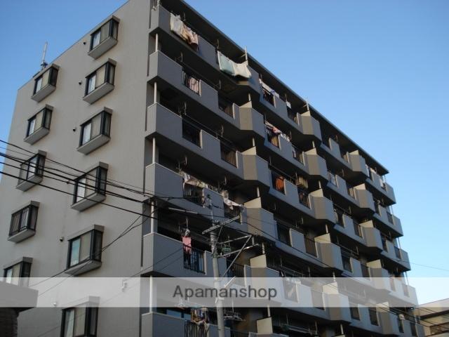 埼玉県さいたま市北区、土呂駅徒歩1分の築21年 7階建の賃貸マンション