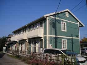埼玉県さいたま市北区、今羽駅徒歩3分の築14年 2階建の賃貸アパート