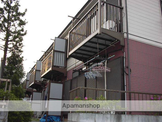 埼玉県上尾市、東大宮駅徒歩16分の築23年 2階建の賃貸アパート