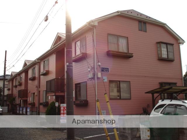 埼玉県さいたま市見沼区、土呂駅徒歩19分の築23年 2階建の賃貸アパート