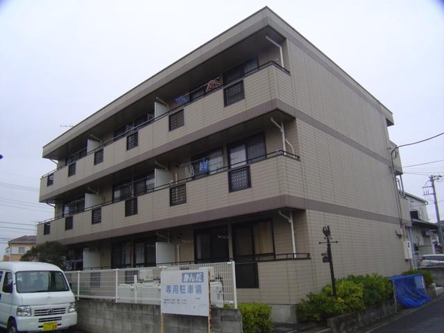 埼玉県さいたま市見沼区、東大宮駅バス10分深作中下車後徒歩1分の築24年 3階建の賃貸マンション