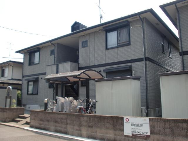 埼玉県北足立郡伊奈町、蓮田駅徒歩25分の築18年 2階建の賃貸アパート