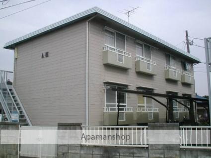 埼玉県上尾市、東大宮駅バス12分団地入り口下車後徒歩1分の築30年 2階建の賃貸アパート