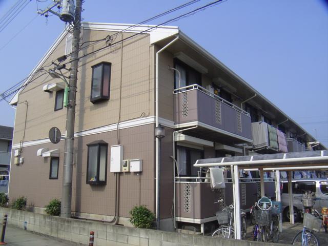 埼玉県北足立郡伊奈町、蓮田駅徒歩25分の築22年 2階建の賃貸アパート