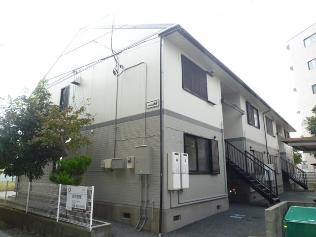 埼玉県北足立郡伊奈町、志久駅徒歩16分の築21年 2階建の賃貸アパート