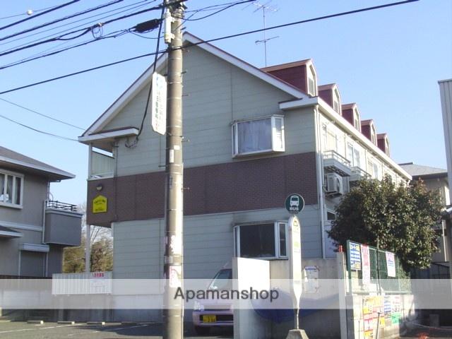 埼玉県さいたま市見沼区、東大宮駅徒歩18分の築24年 2階建の賃貸アパート