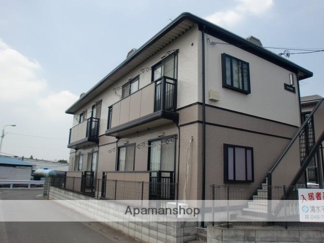 埼玉県蓮田市、蓮田駅徒歩20分の築20年 2階建の賃貸アパート