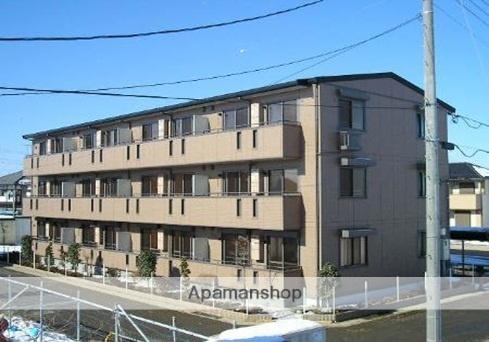 埼玉県上尾市、東大宮駅徒歩11分の築10年 3階建の賃貸アパート