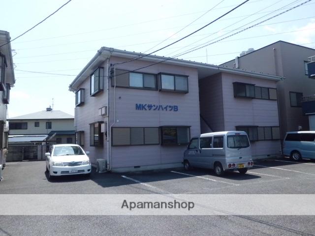 埼玉県上尾市、東大宮駅徒歩14分の築23年 2階建の賃貸アパート