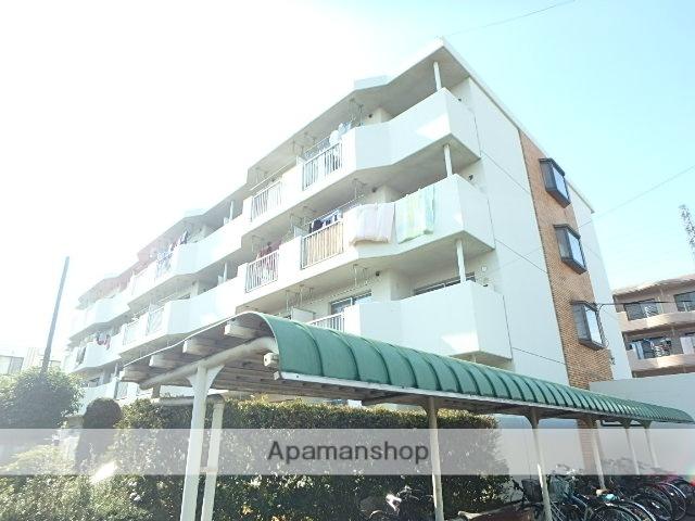 埼玉県さいたま市北区、日進駅徒歩14分の築30年 4階建の賃貸マンション