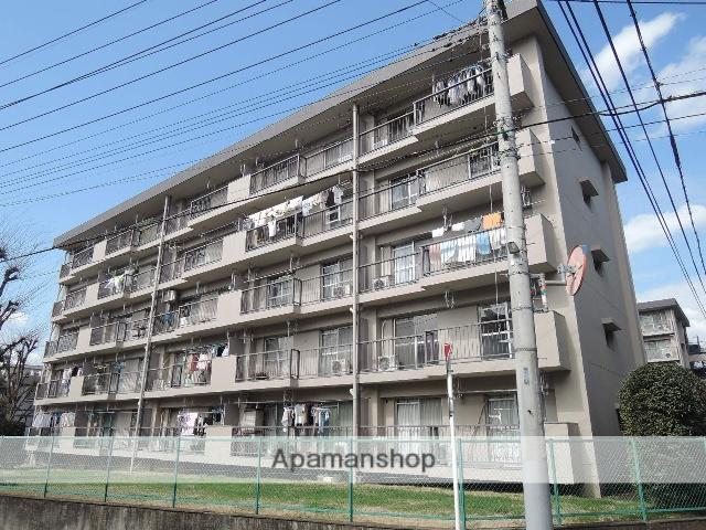 埼玉県さいたま市北区、土呂駅徒歩12分の築44年 5階建の賃貸マンション