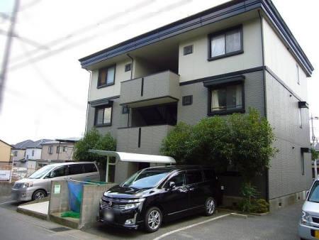 埼玉県さいたま市見沼区、七里駅徒歩21分の築22年 3階建の賃貸アパート