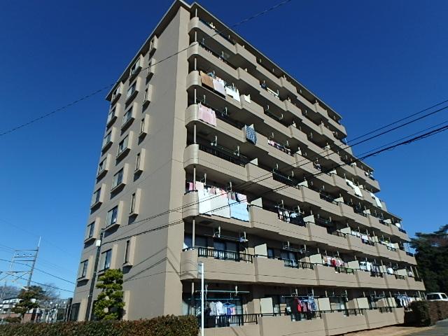 埼玉県さいたま市北区、土呂駅徒歩9分の築20年 8階建の賃貸マンション