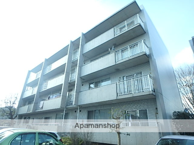 埼玉県さいたま市北区、土呂駅徒歩6分の築19年 4階建の賃貸マンション