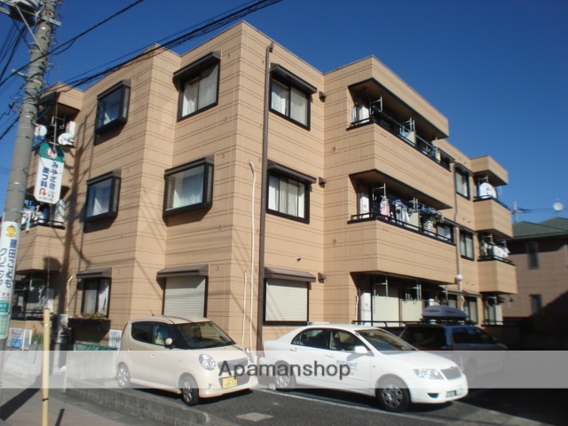 埼玉県さいたま市北区、土呂駅徒歩8分の築21年 3階建の賃貸マンション