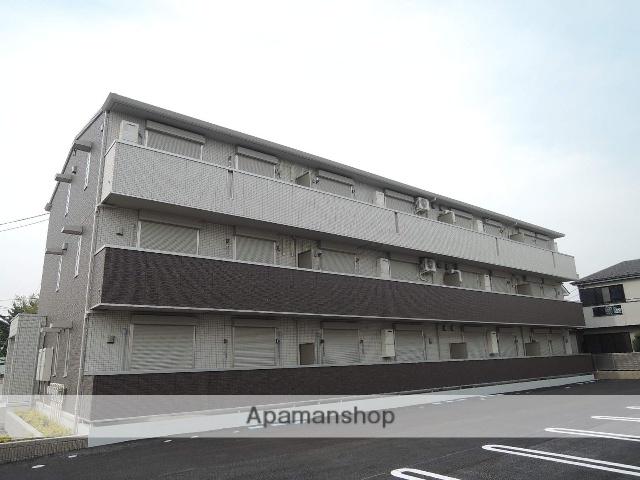 埼玉県さいたま市見沼区、東大宮駅バス14分小深作下車後徒歩6分の築2年 3階建の賃貸アパート